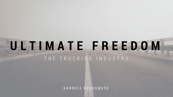 A Career in Trucking – The Ultimate Freedom